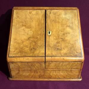 Walnut Desk Stationary Cabinet