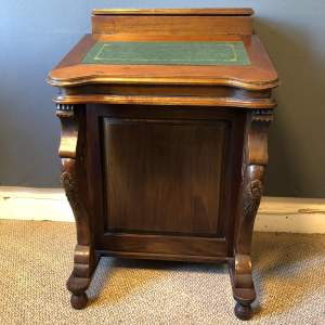 Edwardian Davenport desk