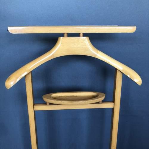 Vintage Wooden Valet Stand image-1