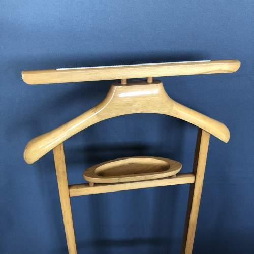 Vintage Wooden Valet Stand image-3