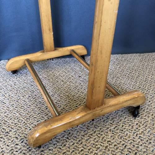 Vintage Wooden Valet Stand image-4