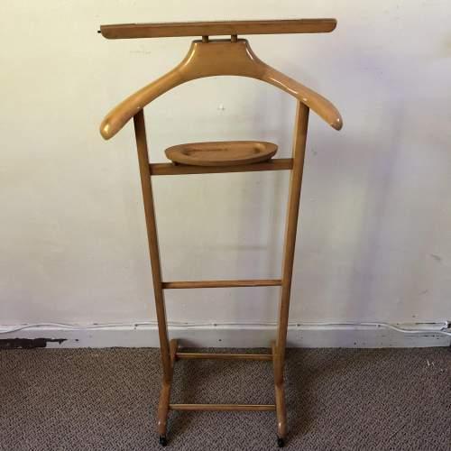 Vintage Wooden Valet Stand image-5