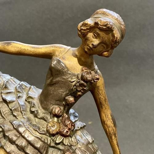 Art Deco Bronze Figure of a Dancer image-2