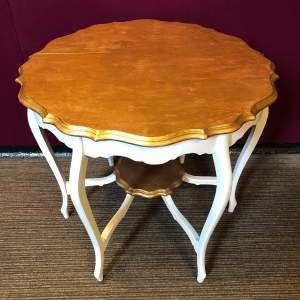 Edwardian Upcycled Side Table