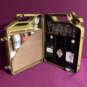 Portable Bar Converted Jerry Can