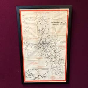 British Railways London Midland Region Full System Map