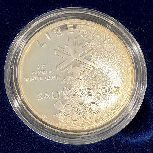 USA 2002 Proof Gold Five Dollar and Silver One Dollar Coin Set image-2