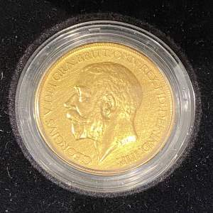 1911 Gold Five Pound Coin