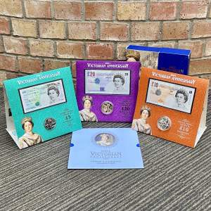 2001 Victorian Anniversary Crown and Banknote Deluxe Collection