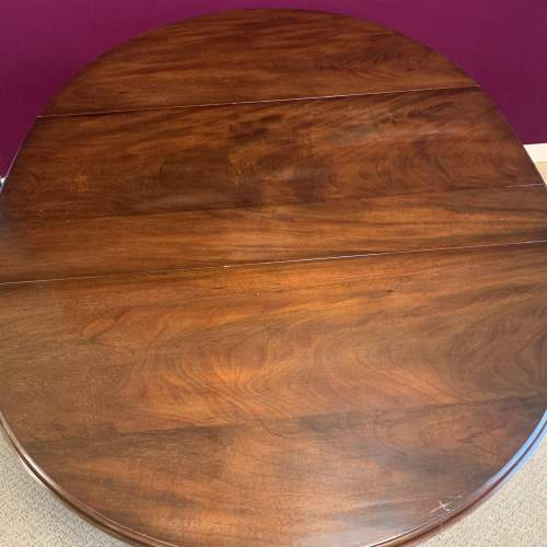 Antique Mahogany Drop Leaf  Dining Table image-5