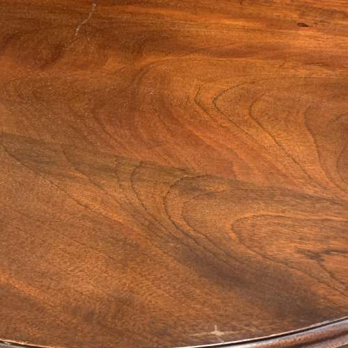 Antique Mahogany Drop Leaf  Dining Table image-6