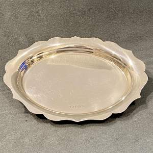 Sheffield 1940 Silver Trinket Tray