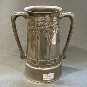 Liberty Tudric Pewter Vase by David Veasey