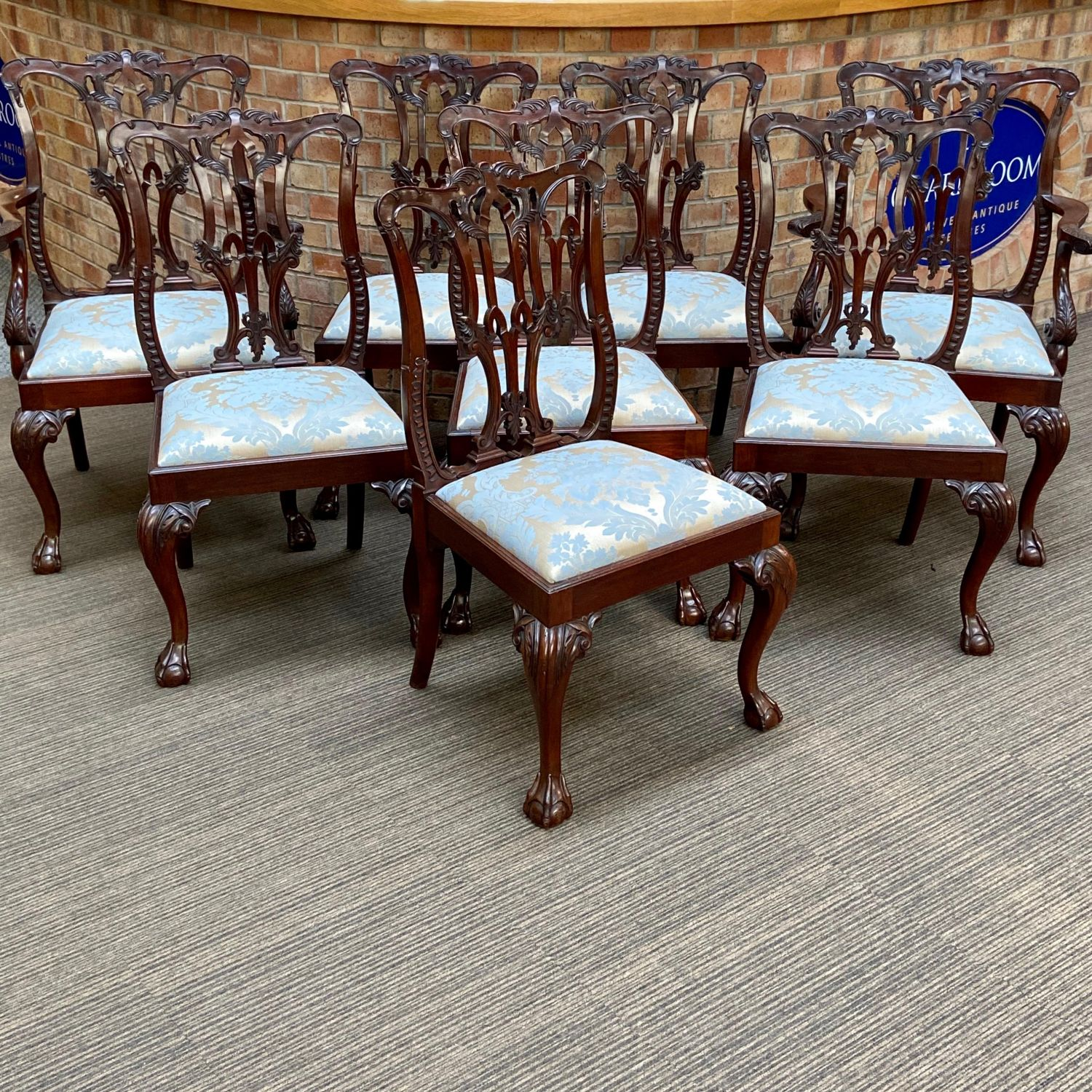Picture of: Set Of Eight Victorian Dining Chairs Antique Dining Chairs Hemswell Antique Centres