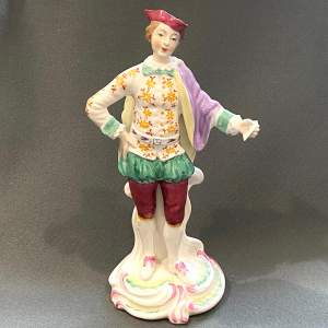 Spode Porcelain Chelsea Figure of a Gentleman
