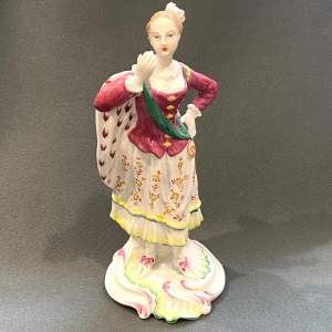 Spode Porcelain Chelsea Figurine of a Lady