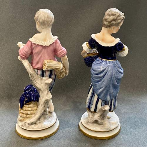 Pair of 19th Century Continental Porcelain Figures image-5