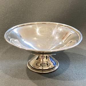20th Century Silver BonBon Dish