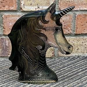 Opart Lucite Unicorn by Abraham Palatnik