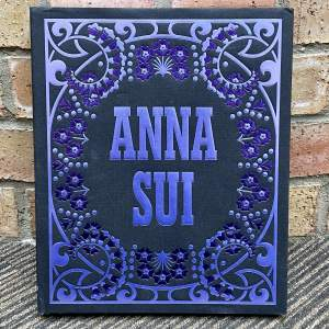 Anna Sui Book Signed by Anna Sui