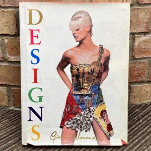 Versace Designs Book Signed by Gianna Versace