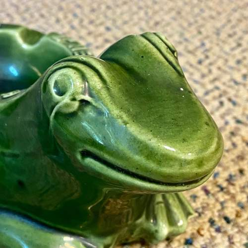 20th Century French Frog Advertising Ashtray image-2