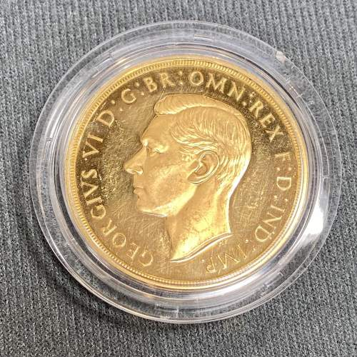 1937 Gold Proof £5 Coin image-2