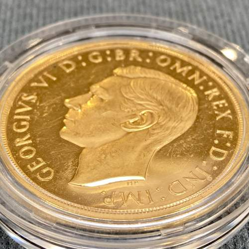 1937 Gold Proof £5 Coin image-4