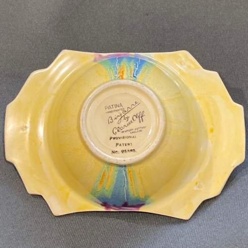 Clarice Cliff Patina Country Grapefruit Bowl image-5