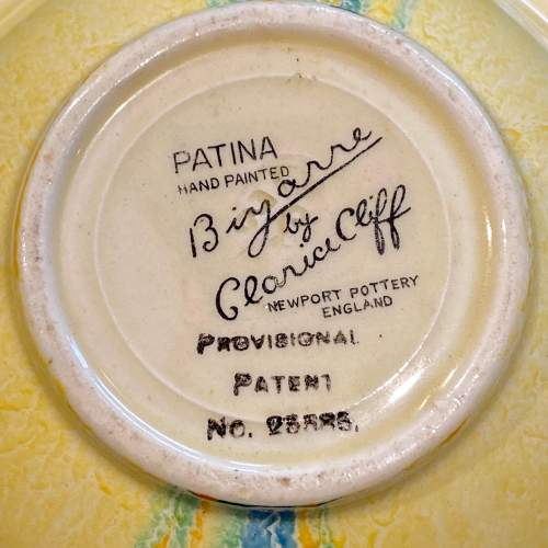 Clarice Cliff Patina Country Grapefruit Bowl image-6