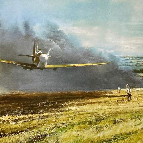 Speak Merlin Supermarine Spitfire Print by Robin Smith G.Av.A. image-2