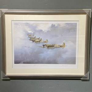 Seek and Destroy Spitfire Print by Robin Smith G.Av.A. Signed