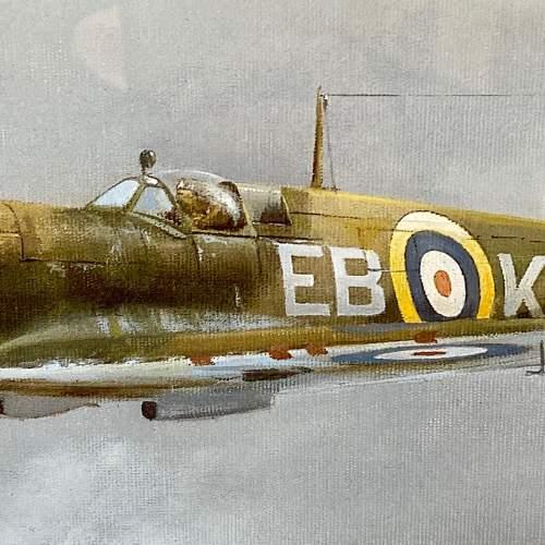 Seek and Destroy Spitfire Print by Robin Smith G.Av.A. Signed image-3