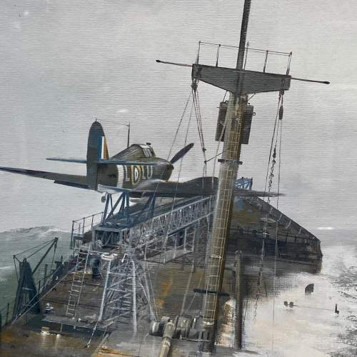 One Way Ticket Hawker Hurricane Print by Robin Smith G.Av.A. image-2