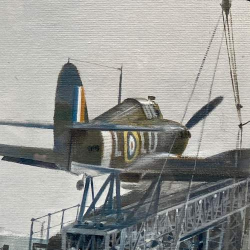 One Way Ticket Hawker Hurricane Print by Robin Smith G.Av.A. image-3