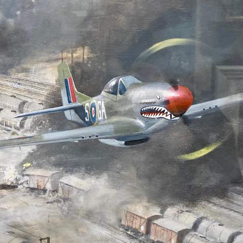 The Finishing Touch P51 Mustang Print by Robin Smith G.Av.A. image-2