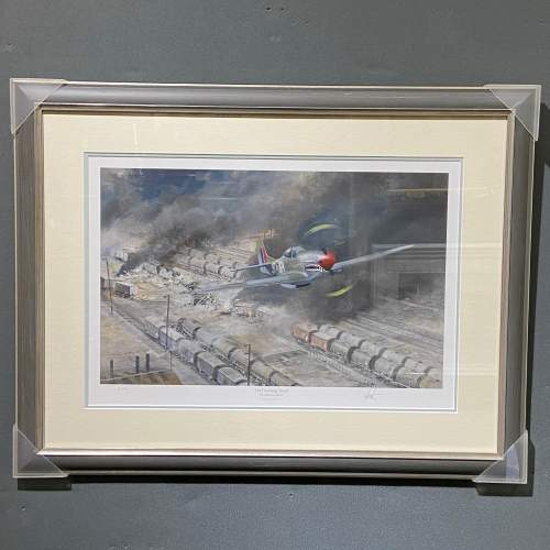 The Finishing Touch P51 Mustang Print by Robin Smith G.Av.A. image-1
