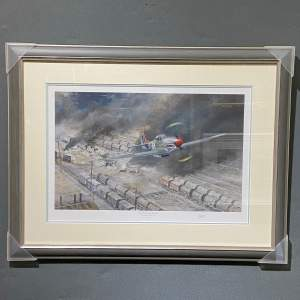 The Finishing Touch P51 Mustang Print by Robin Smith G.Av.A.