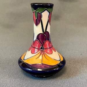 Moorcroft Violeta Small Vase