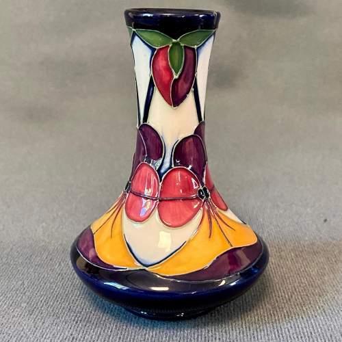 Moorcroft Violeta Small Vase image-2