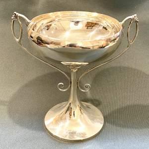 Art Nouveau Silver Bowl