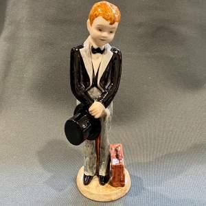 Goldscheider Myott Figure of a Boy