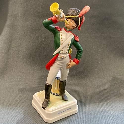 Goebel Soldier Figurine Bochman Cuirassier 1812 image-1