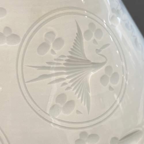 Quality Japanese Porcelain Celadon Vase image-4