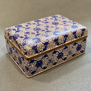 Early 20th Century Japanese Cloisonne Ladies Jewellery Casket