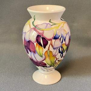 Moorcroft Saecylo Wisteria Vase