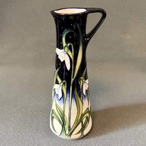 Moorcroft Snow Fairy Vase