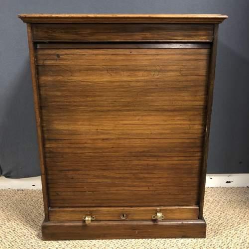 Victorian Walnut Filing Cabinet image-1