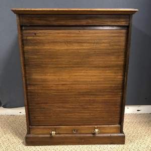 Victorian Walnut Filing Cabinet