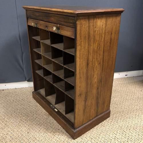 Victorian Walnut Filing Cabinet image-2